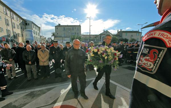 Les cérémonies de la Sainte-Barbe à Saint-Tropez en 2012