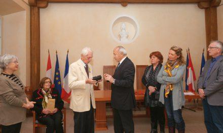 Paul Vermiglio honoré par la municipalité
