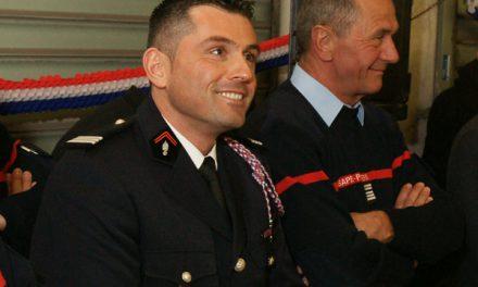 Sapeurs-pompiers : l'hommage unanime au capitaine Seitz