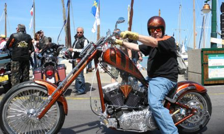 Eurofestival Harley : une parade pétaradante et colorée