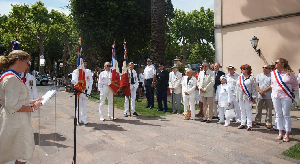 Image 1 - Saint-Tropez commémore l'appel du 18 juin