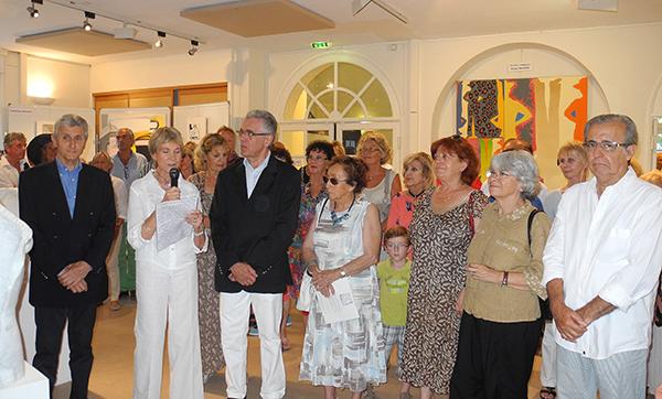 Le salon des peintres et sculpteurs est ouvert