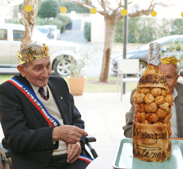 Edmond Bérenguier élu Mister Platanes