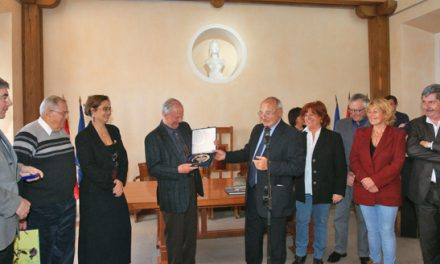 Amicale des donneurs de sang : André Bey honoré