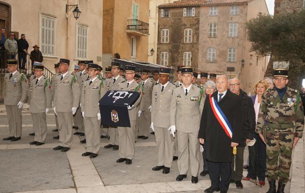 Image 1 - Le 3e RAMa à l'honneur place de l'hôtel de ville