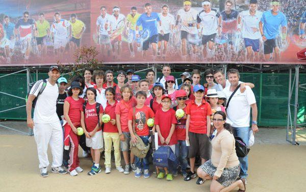 Sortie pour le Tennis Club de Saint-Tropez