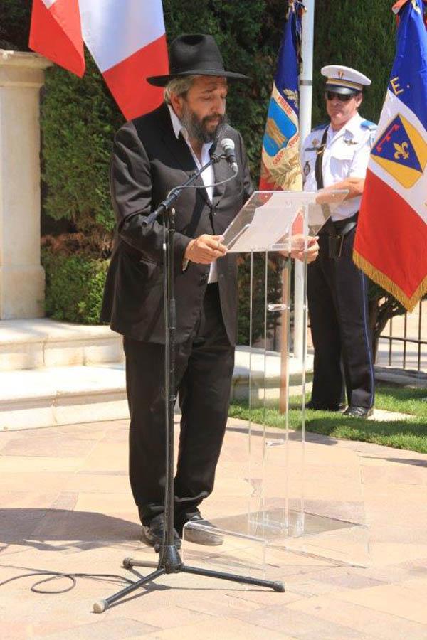 Daniel Belaïch, rabbin de Saint-Tropez