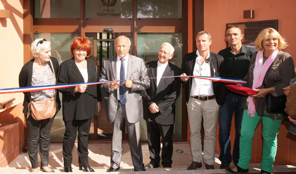 Inauguration du nouveau CCAS de Saint-Tropez