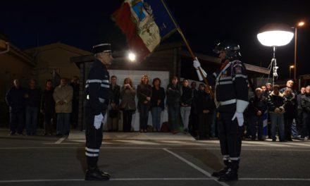 Pompiers : le capitaine Vighetto intronisé