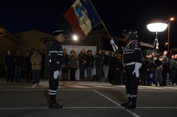 Image 1 - Pompiers : le capitaine Vighetto intronisé