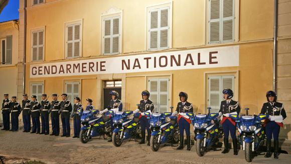 Les gendarmes rassemblés pour les 10 ans de la nouvelle gendarmerie