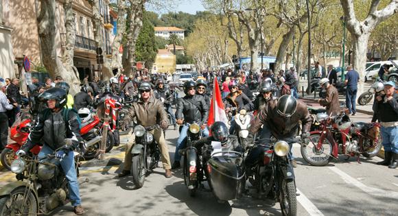 Les motos anciennes du XXIe Rétropézien