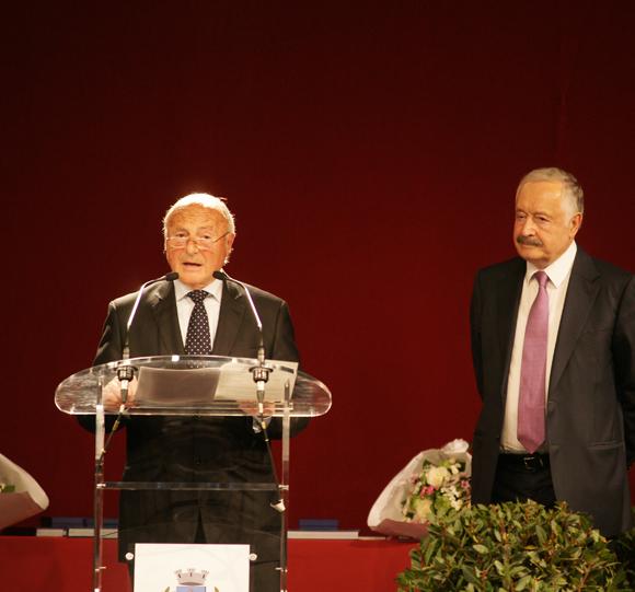 Le Maire, Jean-Pierre Tuveri et Son excellence, Viguen Tchitetchian
