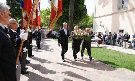 Saint-Tropez commémore l'armistice du 8 mai 45