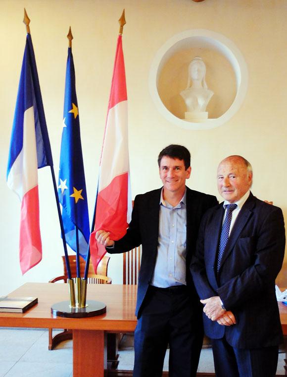 Image 2 - Le maire de Buzios en visite à Saint-Tropez