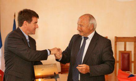 Le maire de Buzios en visite à Saint-Tropez