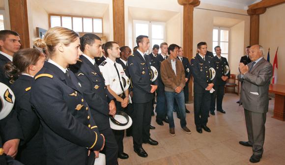 L ecole de l air fait le mur saint tropez site officiel de la ville de saint tropez - Gendarmerie salon de provence ...