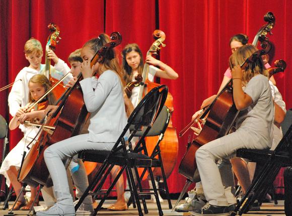 Image 2 - Une pluie de cordes pour l'audition des élèves du conservatoire