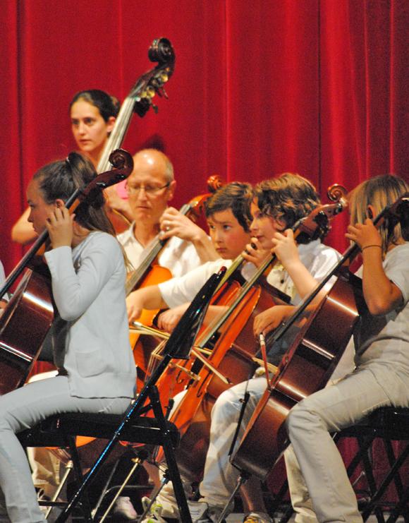 Image 3 - Une pluie de cordes pour l'audition des élèves du conservatoire
