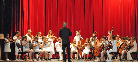 Image 4 - Une pluie de cordes pour l'audition des élèves du conservatoire