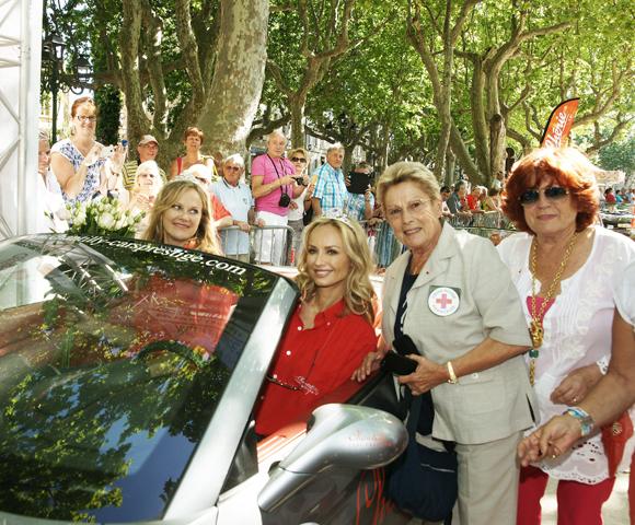 Rallye : 180 princesses à l'arrivée de Saint-Tropez