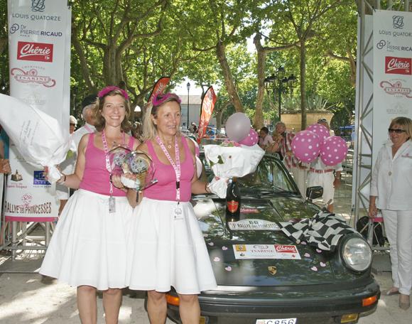 Image 2 - Rallye : 180 princesses à l'arrivée de Saint-Tropez