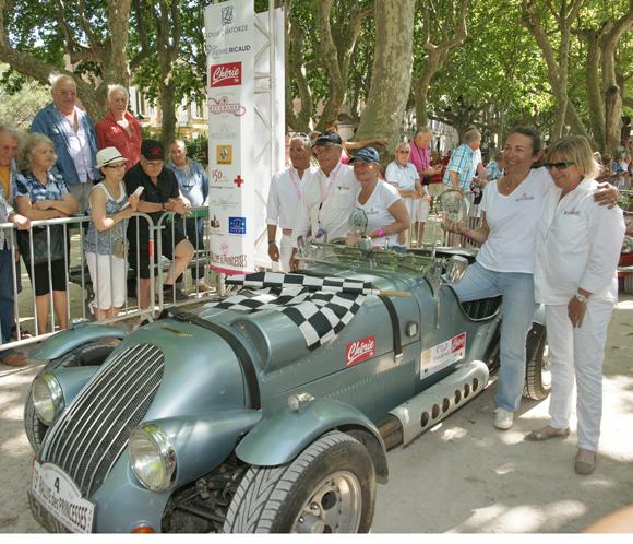Image 3 - Rallye : 180 princesses à l'arrivée de Saint-Tropez