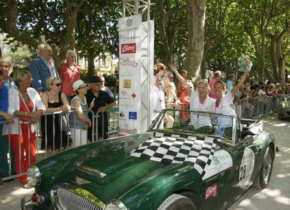 Image 4 - Rallye : 180 princesses à l'arrivée de Saint-Tropez