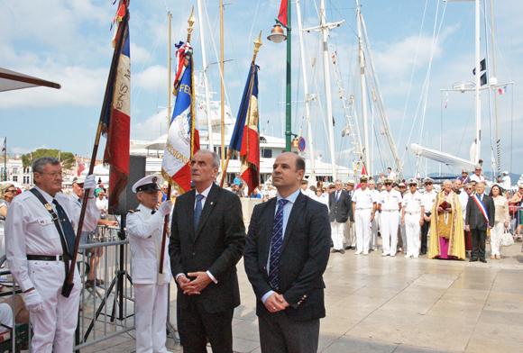 Vincent Camilleri, ambassadeur de Malte, et Claude Zammi, directeur de l'office de tourisme maltais en France.