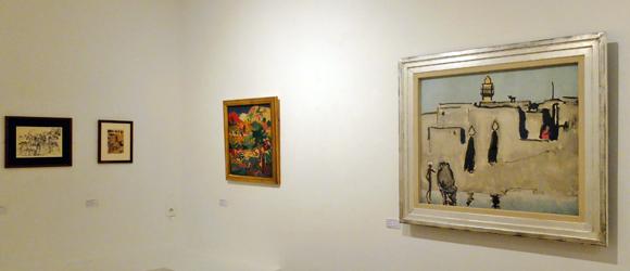 Une cinquantaine d'œuvres, dont de nombreux dessins et croquis, sont visibles jusqu'au 13 octobre.