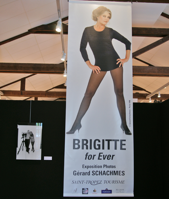 L'exposition Brigitte for ever à Saint-Tropez