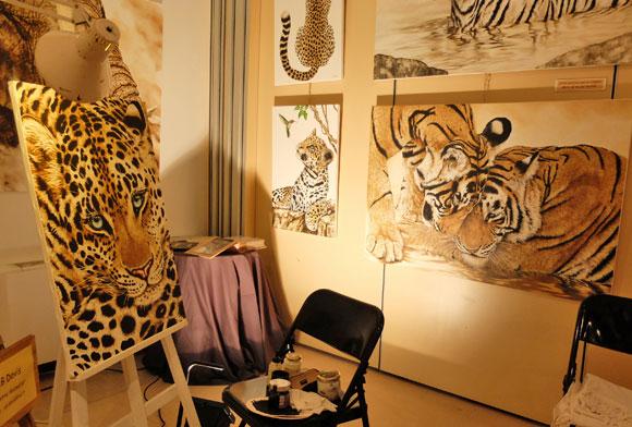 Image 2 - Ouverture du 18e Salon des artistes contemporains