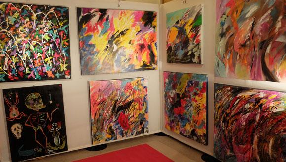 Image 3 - Ouverture du 18e Salon des artistes contemporains