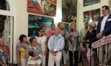 Ouverture du 18e Salon des artistes contemporains