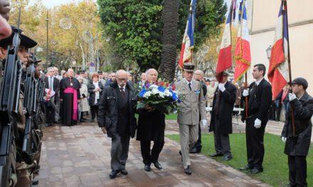 Saint-Tropez a commémoré l'armistice du 11 novembre 1918