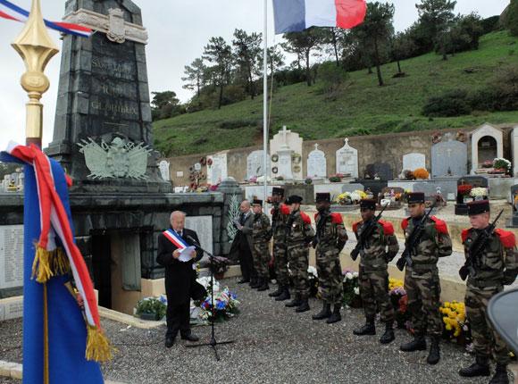 Image 2 - Saint-Tropez a commémoré l'armistice du 11 novembre 1918