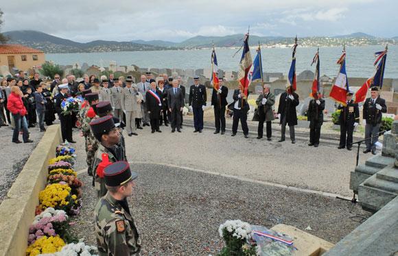 Image 3 - Saint-Tropez a commémoré l'armistice du 11 novembre 1918