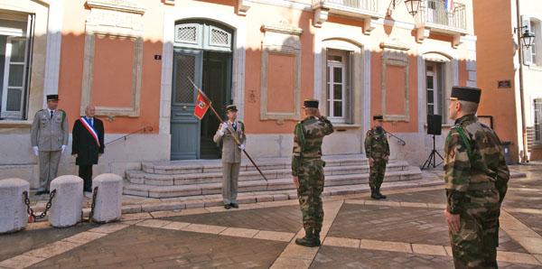 Image 4 - Saint-Tropez accueille la passation de commandement du 3e Rama de Canjuers