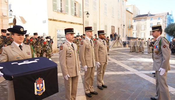 Image 5 - Saint-Tropez accueille la passation de commandement du 3e Rama de Canjuers