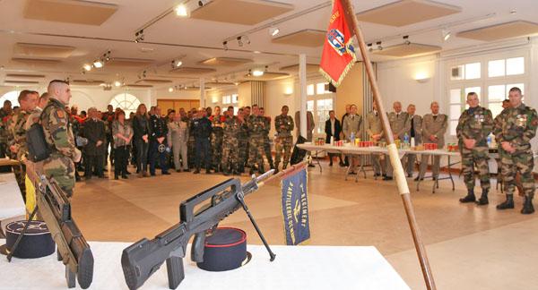 Image 8 - Saint-Tropez accueille la passation de commandement du 3e Rama de Canjuers