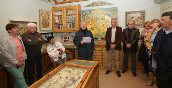 Exposition rétrospective de l'œuvre entomologique de Dany Lartigue