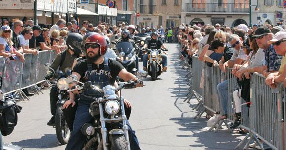 Image 3 - Eurofestival Harley Davidson : les plus belles photos de la parade