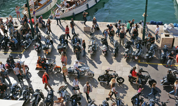 Image 4 - Eurofestival Harley Davidson : les plus belles photos de la parade
