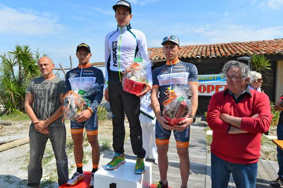 Jérémy Morel remporte l'édition 2015 du Tri-Tropézien