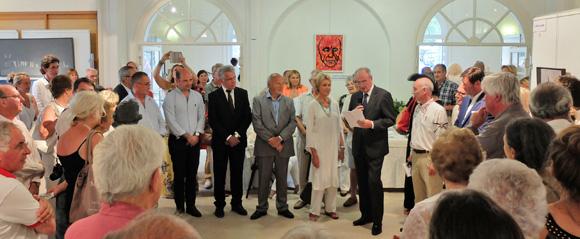 Malte s'invite au salon des peintres et sculpteurs de Saint-Tropez
