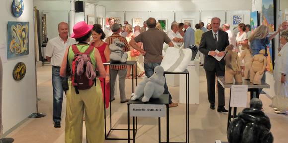 Image 3 - Malte s'invite au salon des peintres et sculpteurs de Saint-Tropez
