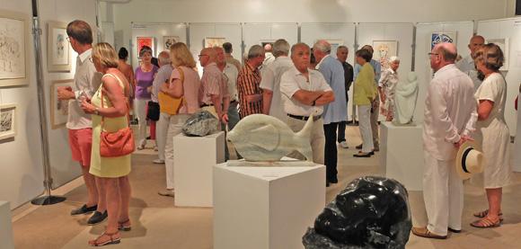 Image 4 - Malte s'invite au salon des peintres et sculpteurs de Saint-Tropez