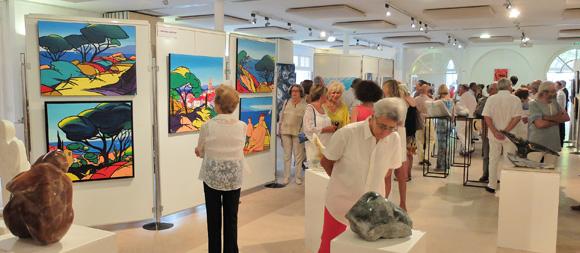 Image 5 - Malte s'invite au salon des peintres et sculpteurs de Saint-Tropez