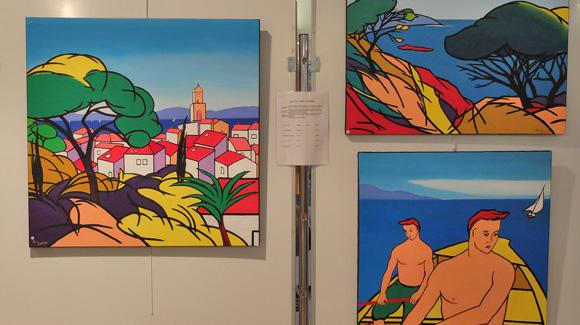 Image 6 - Malte s'invite au salon des peintres et sculpteurs de Saint-Tropez