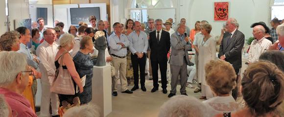 Image 2 - Malte s'invite au salon des peintres et sculpteurs de Saint-Tropez